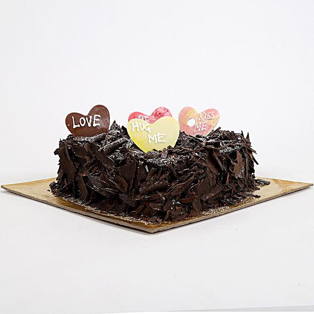 Love in abundunce Valentine cake 2kg Eggless