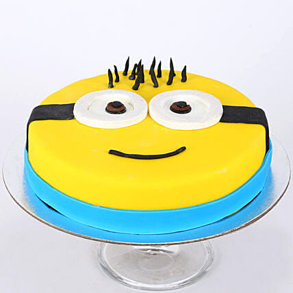 Minion For You Cake 1kg Vanilla Gift Minion Cute Cartoon