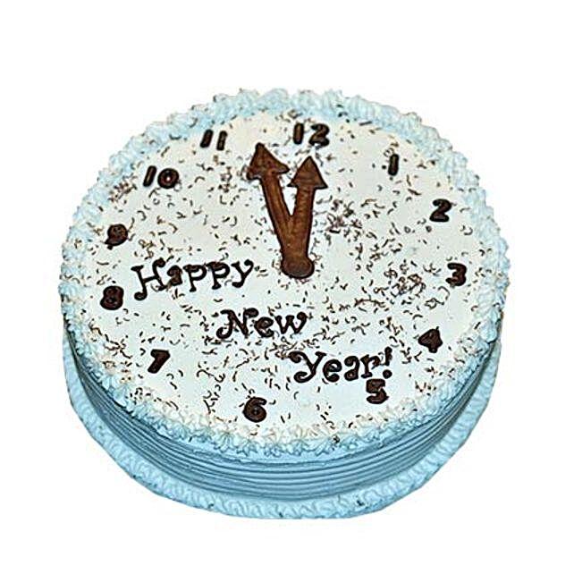 New Year Eve Cake 2kg Eggless