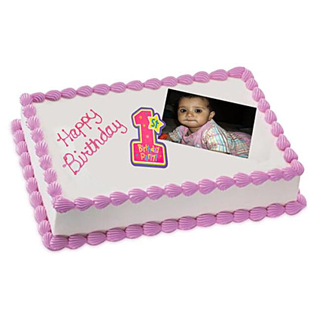 Photo Cake Chocolate Sponge 1kg
