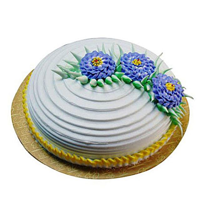 Pineapple Swirl Cake 2kg Eggless