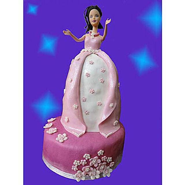 Princess Cake 2kg Chocolate Eggless
