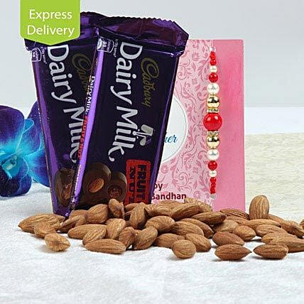 Rakhi Gifts Special with Dry Fruit N Nut Combo