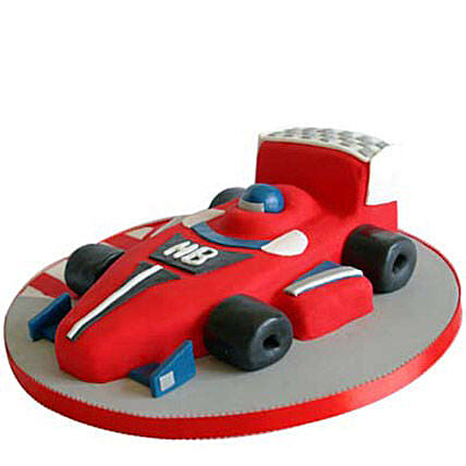 Red Hot Ferrari Car Cake 2kg Eggless