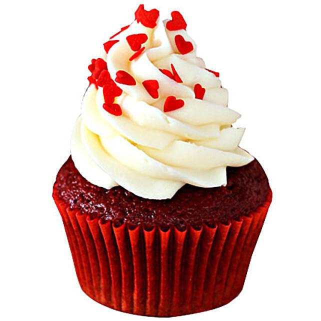 Red Velvet Cupcakes 24 Eggless