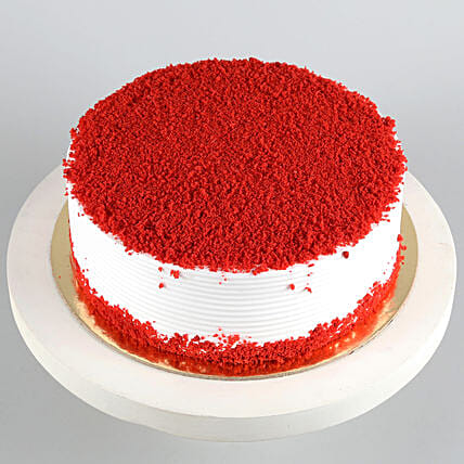 Red Velvet Fresh Cream Cake 2kg Eggless