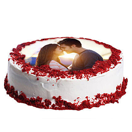 Red Velvet Photo Cake 3kg
