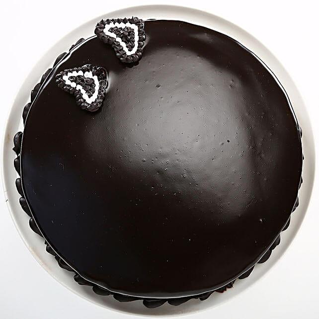 Rich Velvety Chocolate Cake 2kg Eggless