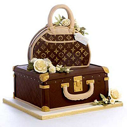 Showy LV Bag Cake