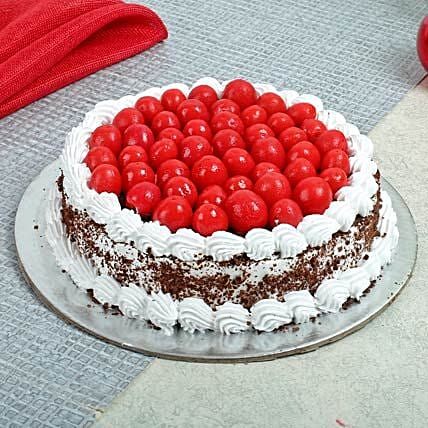 Special Blackforest Cake 1kg Eggless