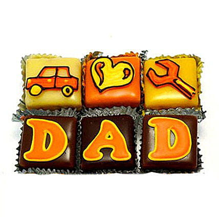 Special DAD Cupcakes 12 Eggless