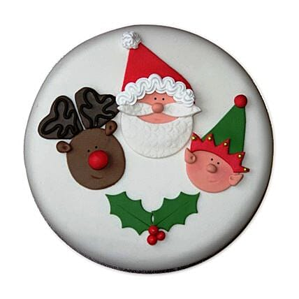 Special Delicious Merry Christmas Cake 2kg Eggless