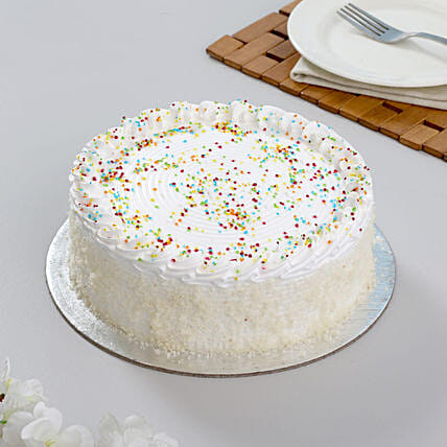 Special Delicious Vanilla Cake Half kg Eggless