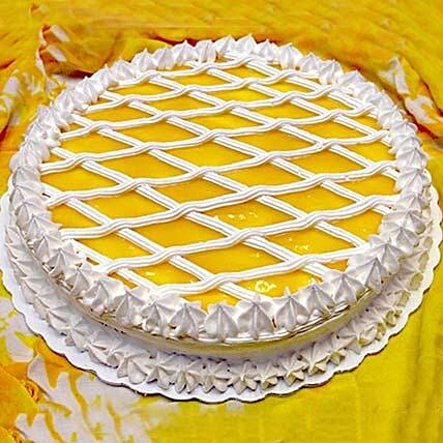 Special Mango Redondo Cake 1kg Eggless