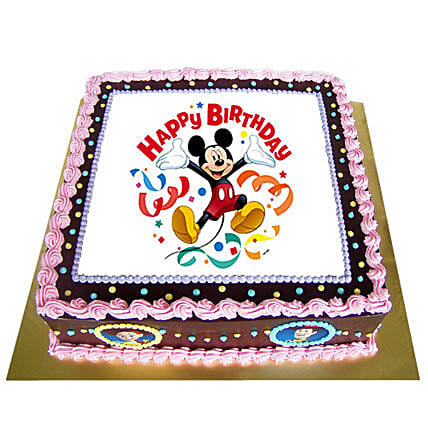 Special Photo Cake 3kg Eggless