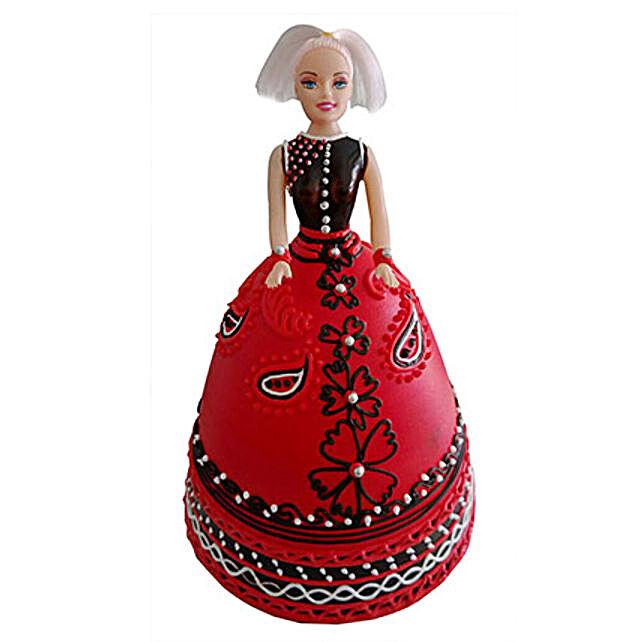 Strawberry Baby Doll Cake 2 Kg