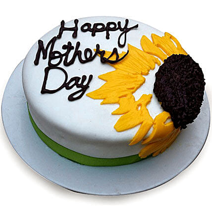 Sunflower Cake for Mom 2kg Eggless