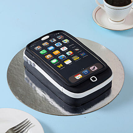 Techy iPhone Cake 3kg Eggless