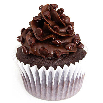 Tripple Chocolate Cupcakes 12 Eggless