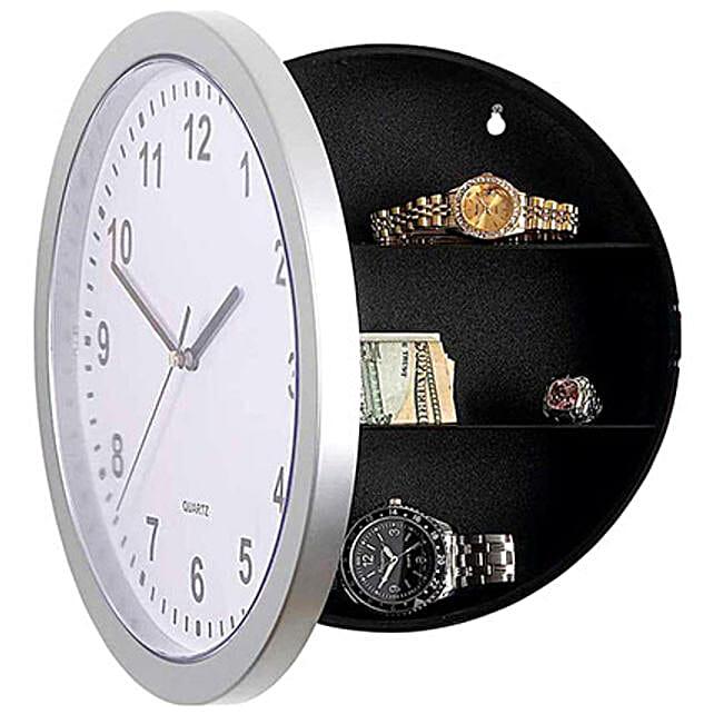 Wall Clock Cum Hidden Safe