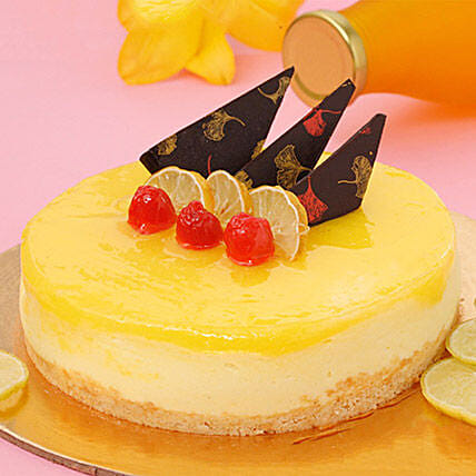 Zesty Lemon Cheesecake 2KG Eggless