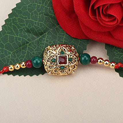 Traditional Antique Rakhi LEB
