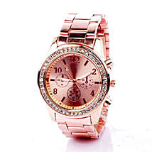 Birthday gifts for her gift ideas for girls and women ferns n rinestone rose gold watch for women birthday gifts for girls negle Image collections