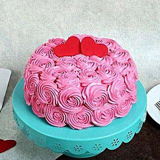 rose cream valentine cake cakes for valentines day