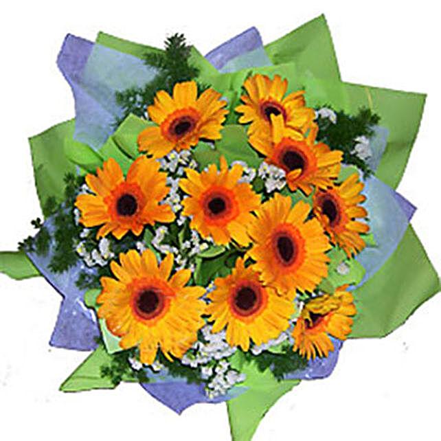 Cheerful Gerberas Bouquet