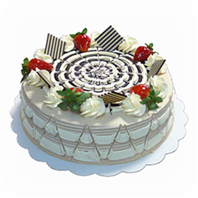 Decorative Coffee Cake