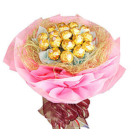 Nest Of Ferrero Rocher