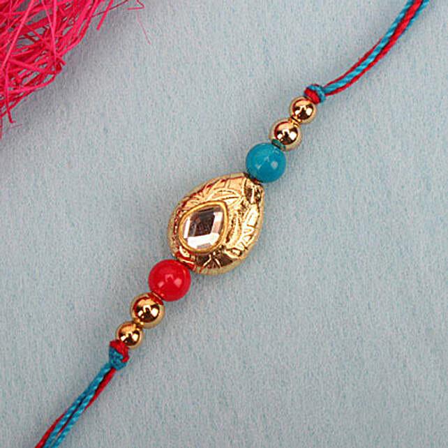Perfection Kundan Rakhi PHI
