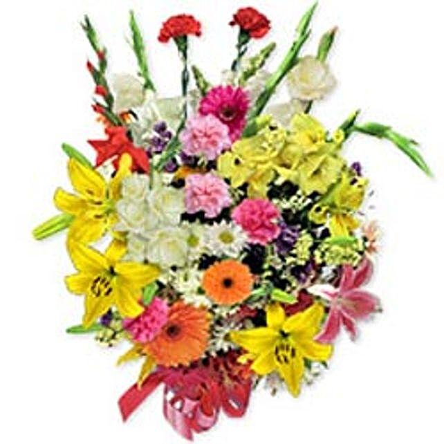 Deluxe Seasonal Bouquet pol