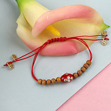 Blessings Sandalwood Rakhi POR
