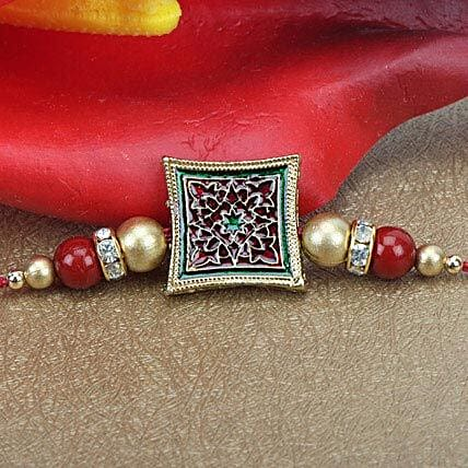 Touch Of Meenakari Rakhi QAT