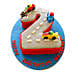 Car Race Birthday Cake 4kg Chocolate