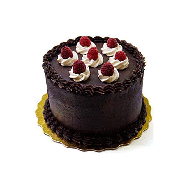 Raspberry n Chocolate Cake