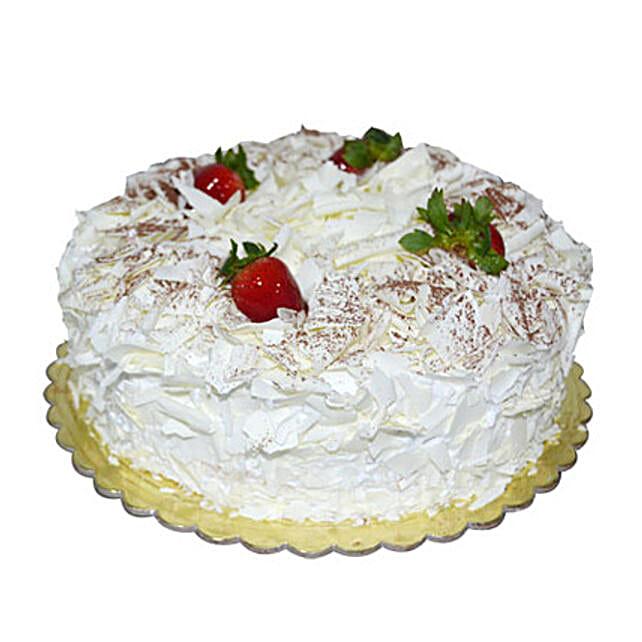 1 Kg White Forest Cake