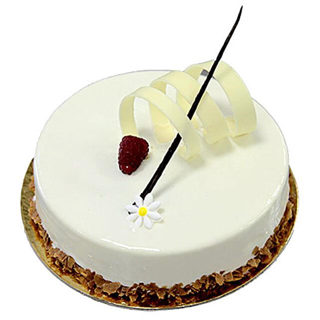 8 Portion New Vanilla Cake