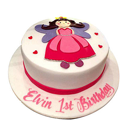 Animated Princess Cake