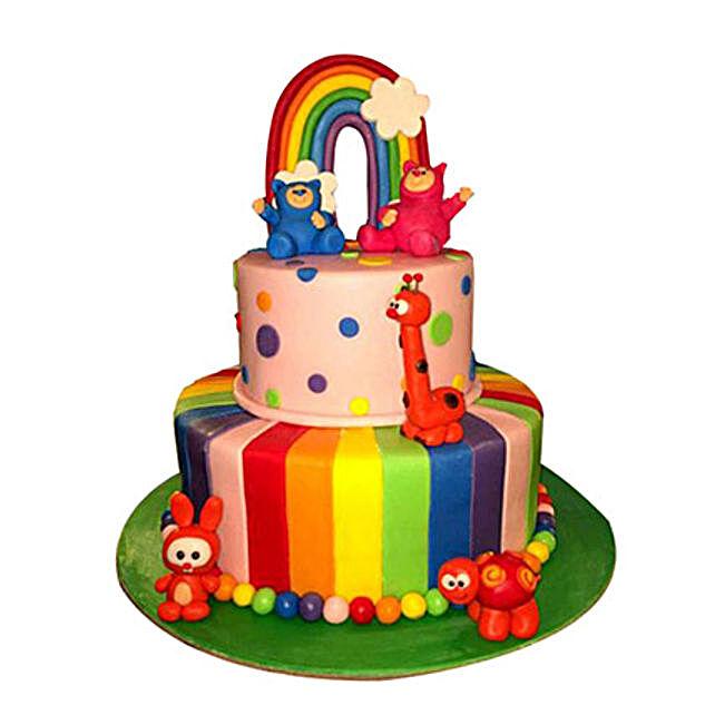 Baby Cartoons Cake