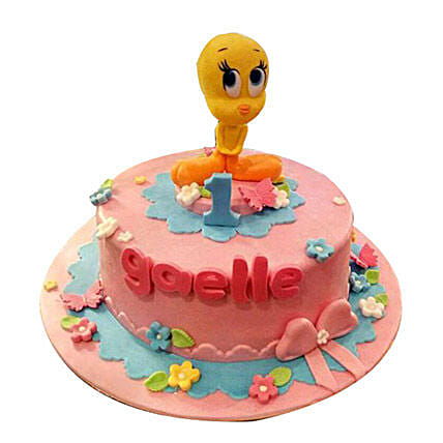 Cartoon Chick Cake