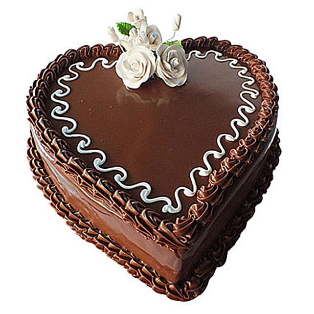 Choco Heart Cake