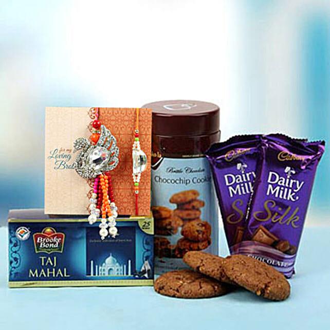 Chocochip Cookies with Rakhi