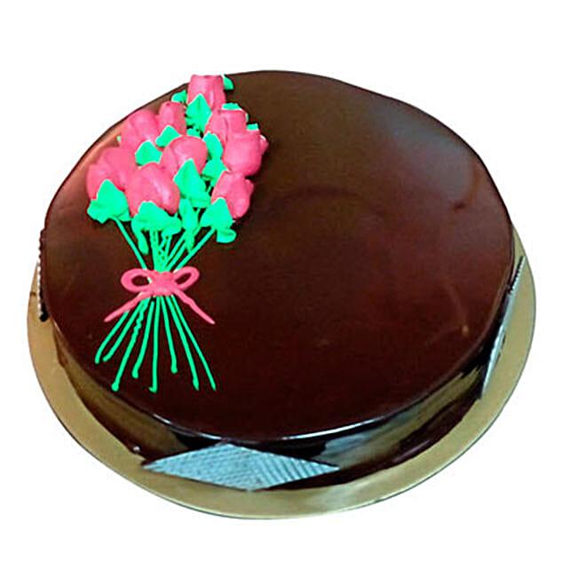 Chocolate Truffle Cake for Mom