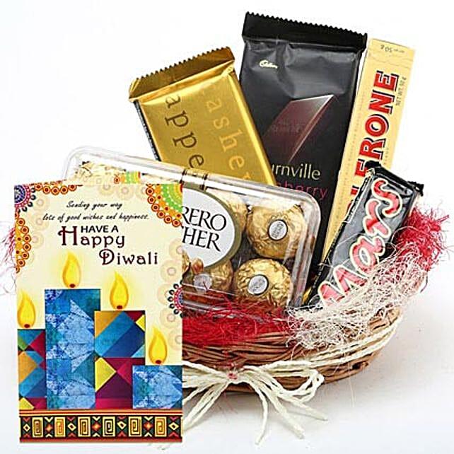 Chocolaty Diwali Greetings