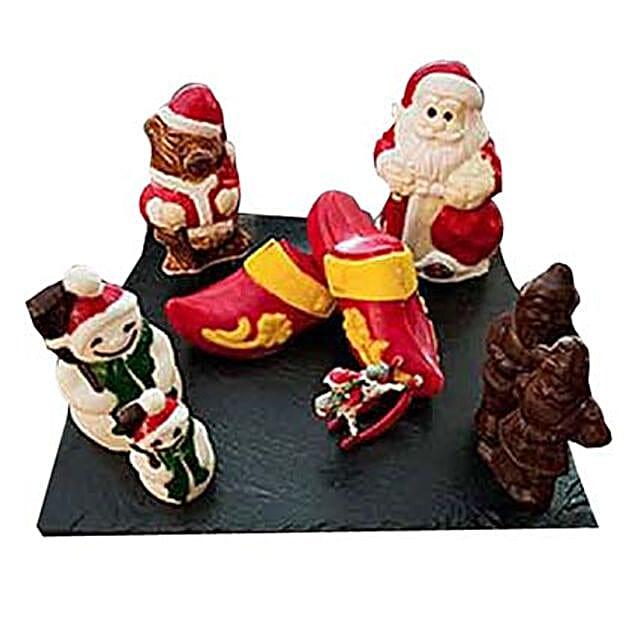Christmas Chocolate Show Pieces