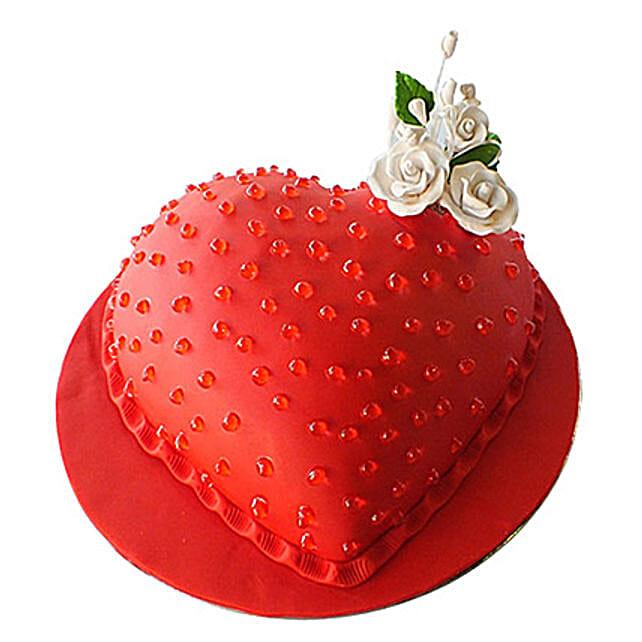 Classic Heart Cake