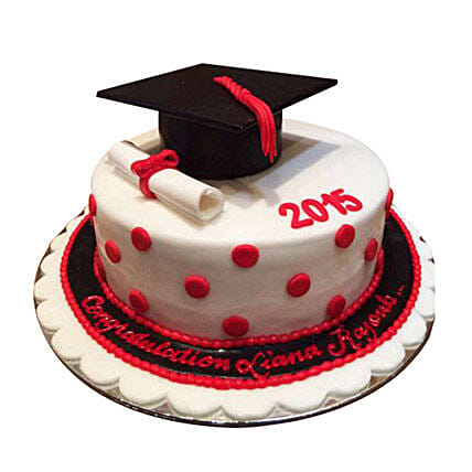 Convocation Degree Cake