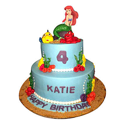 Disney Ariel Princess Cake
